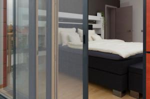 4 - balkónové dveře