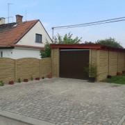 Betonové ploty poskytují ochranu vašemu majetku a skvěle vypadají